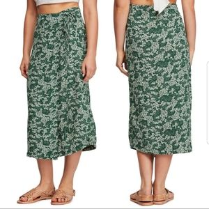 Free People Yasmin wrap skirt